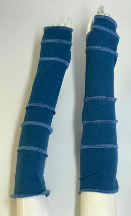 Sky Blue with Sky Blue Arm Warmers