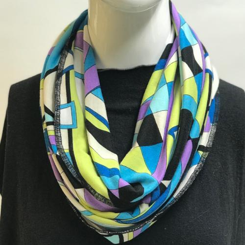 Abstract Lover Eternity Scarf