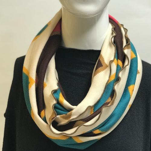 Big Chevron Eternity Scarf