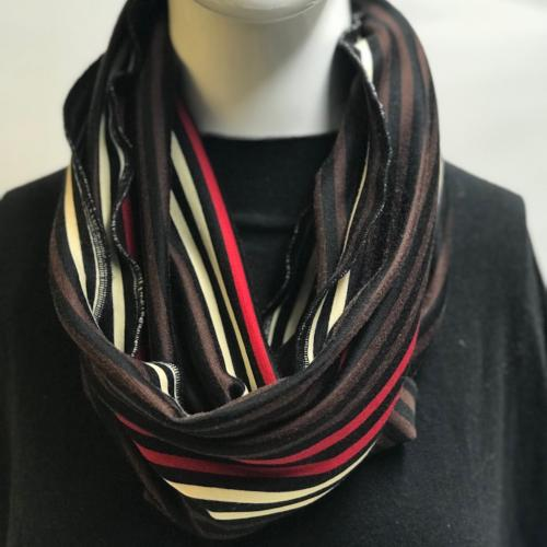 Vintage Stripe Eternity Scarf