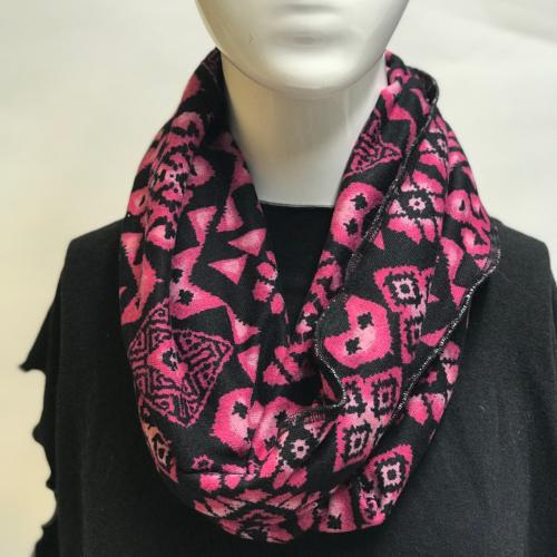 Tribal Bloom Eternity Scarf