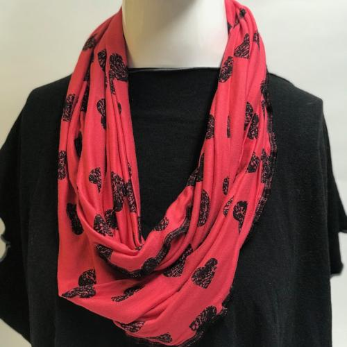 Hearted Eternity Scarf