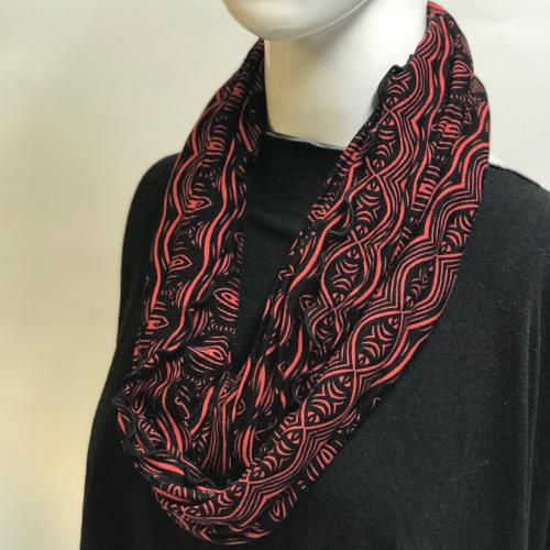 Circle Row Eternity Scarf