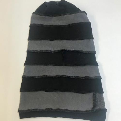 Black and Grey Slouch Hat