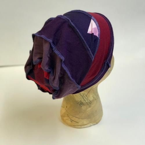 Purples and Reds Slouch Hat