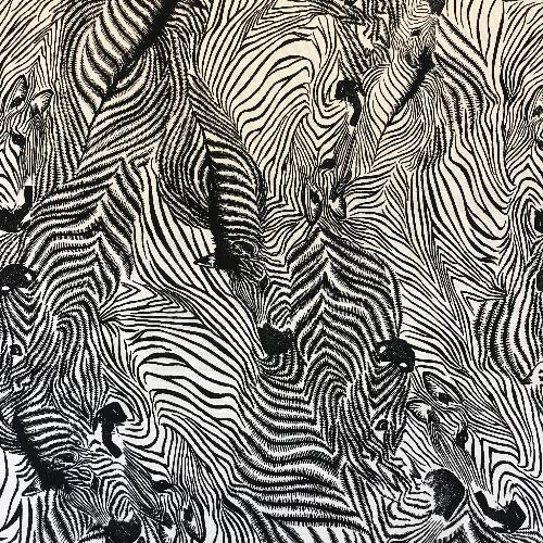 Zebra Illusions Head Hugger