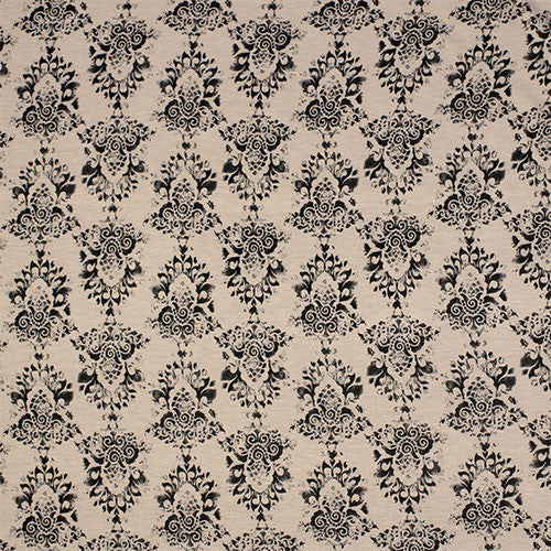 Stamped Damask Beige Head Hugger