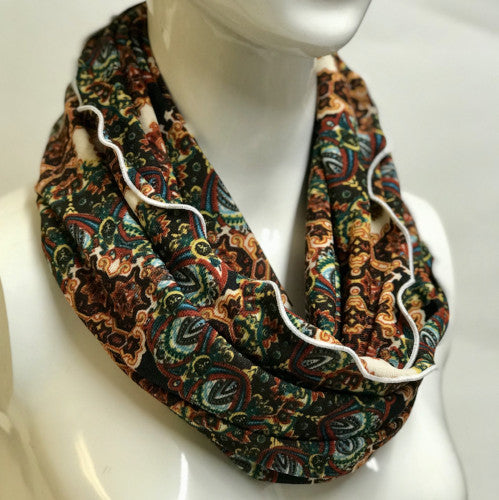 Cathedral Paisley Eternity Scarf