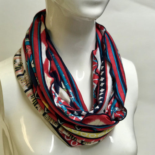 Fire Tribal Eternity Scarf