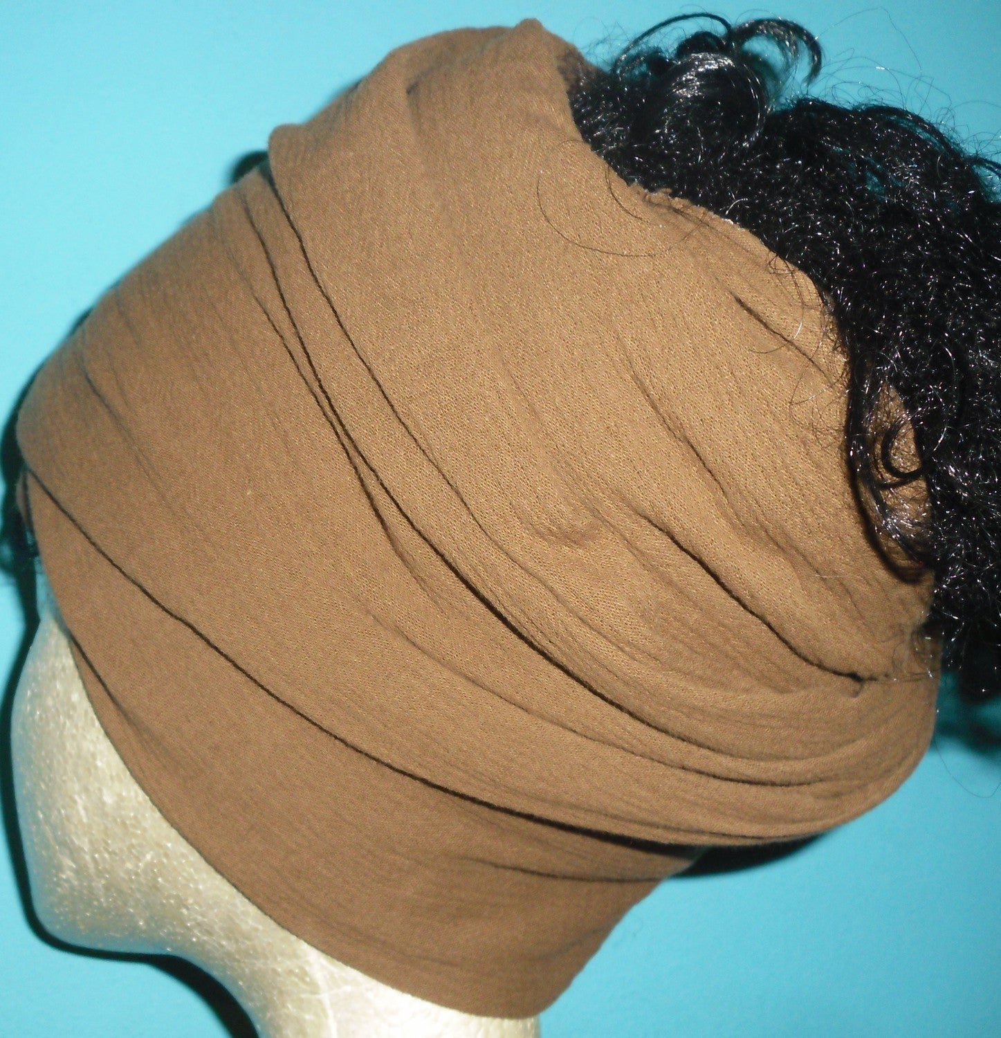 Light Brown Gauze Goddess Wrap