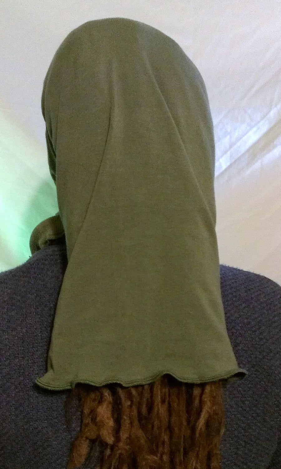Olive Green Organic XL Head Hugger