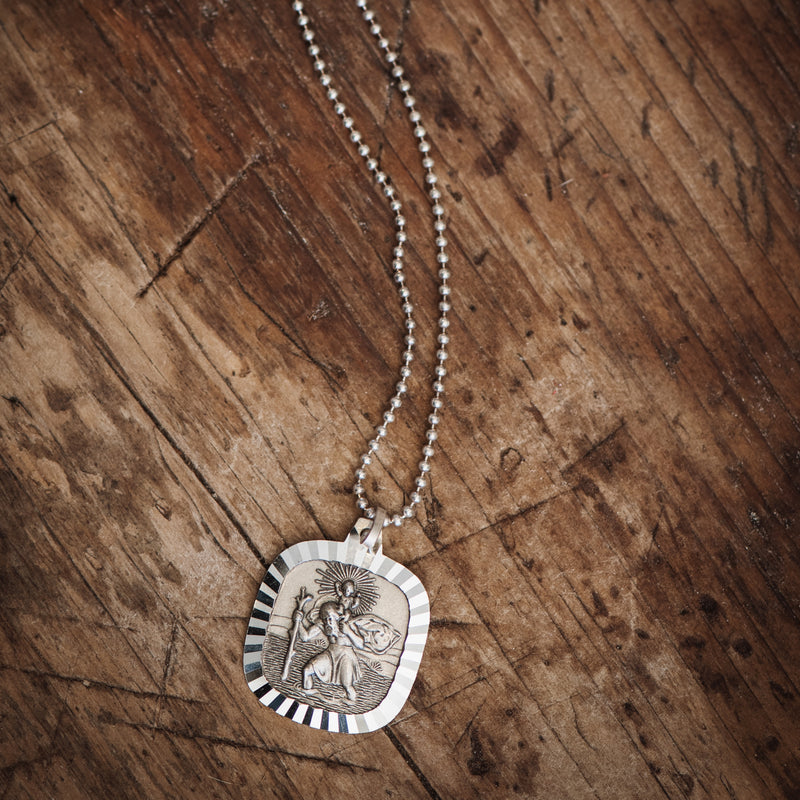 Saint Christopher Vintage Necklace #1