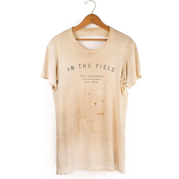 In the Field - Vintage T Shirt