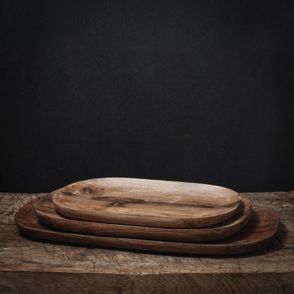 Black Walnut Tray set
