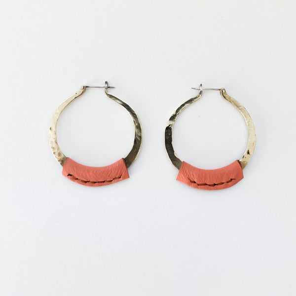 Leather Kiva Earrings