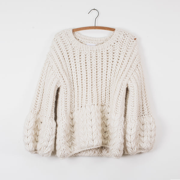 Adena Sweater - Cream