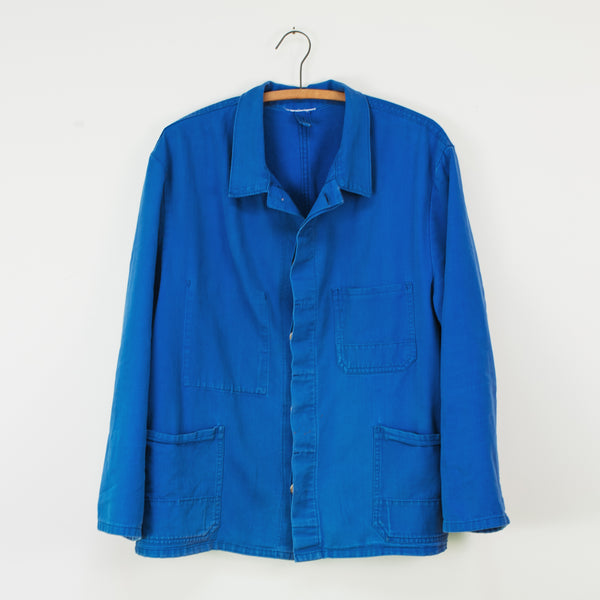 French Blue Work Jacket