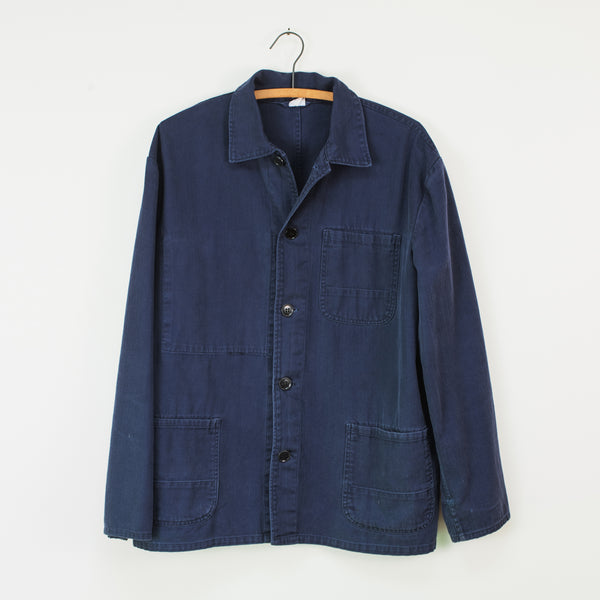 Indigo French Work Jacket