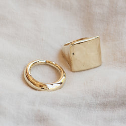 Atlas Square Ring