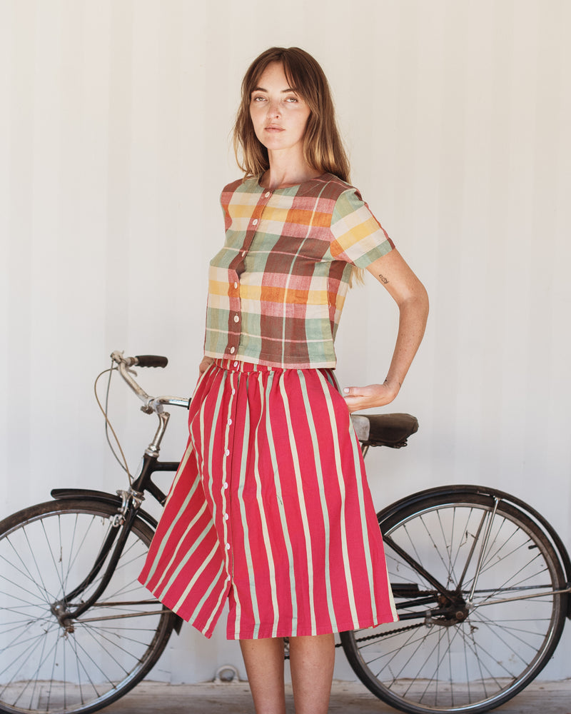 Sadie Skirt- Watermelon