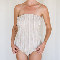 Borrego One Piece - Sand Souk Stripe