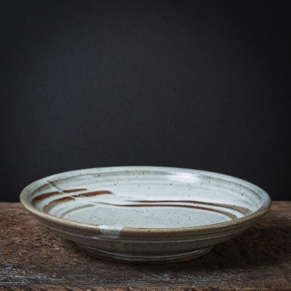Nate Pidduck Low Stoneware Bowl