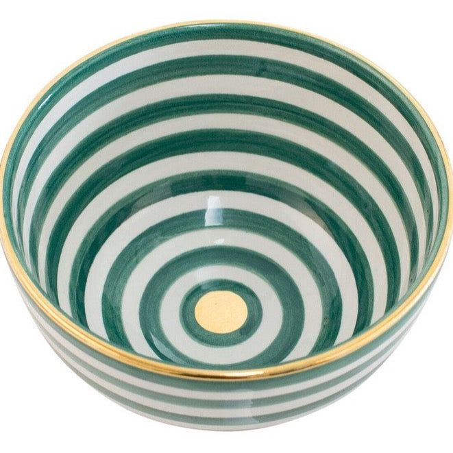 Bowl - Green Stripe