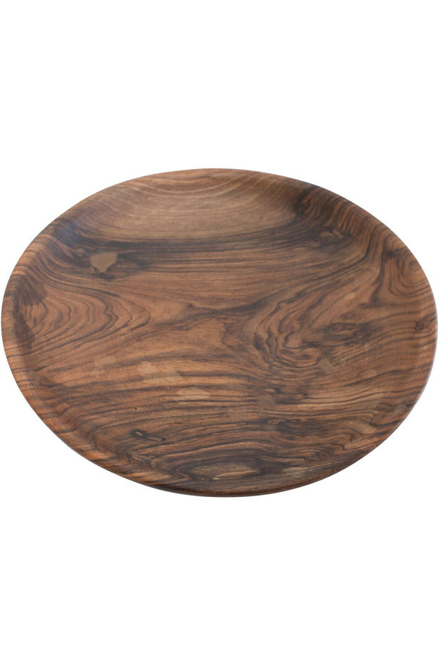 Black Walnut Large Plate