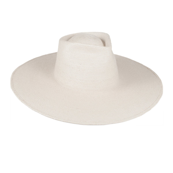 "Sun Hat with 5"" Brim and Fedora Detail - LARGE BRIM"