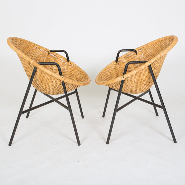 Dan Johnson - Pair of Bucket Chairs