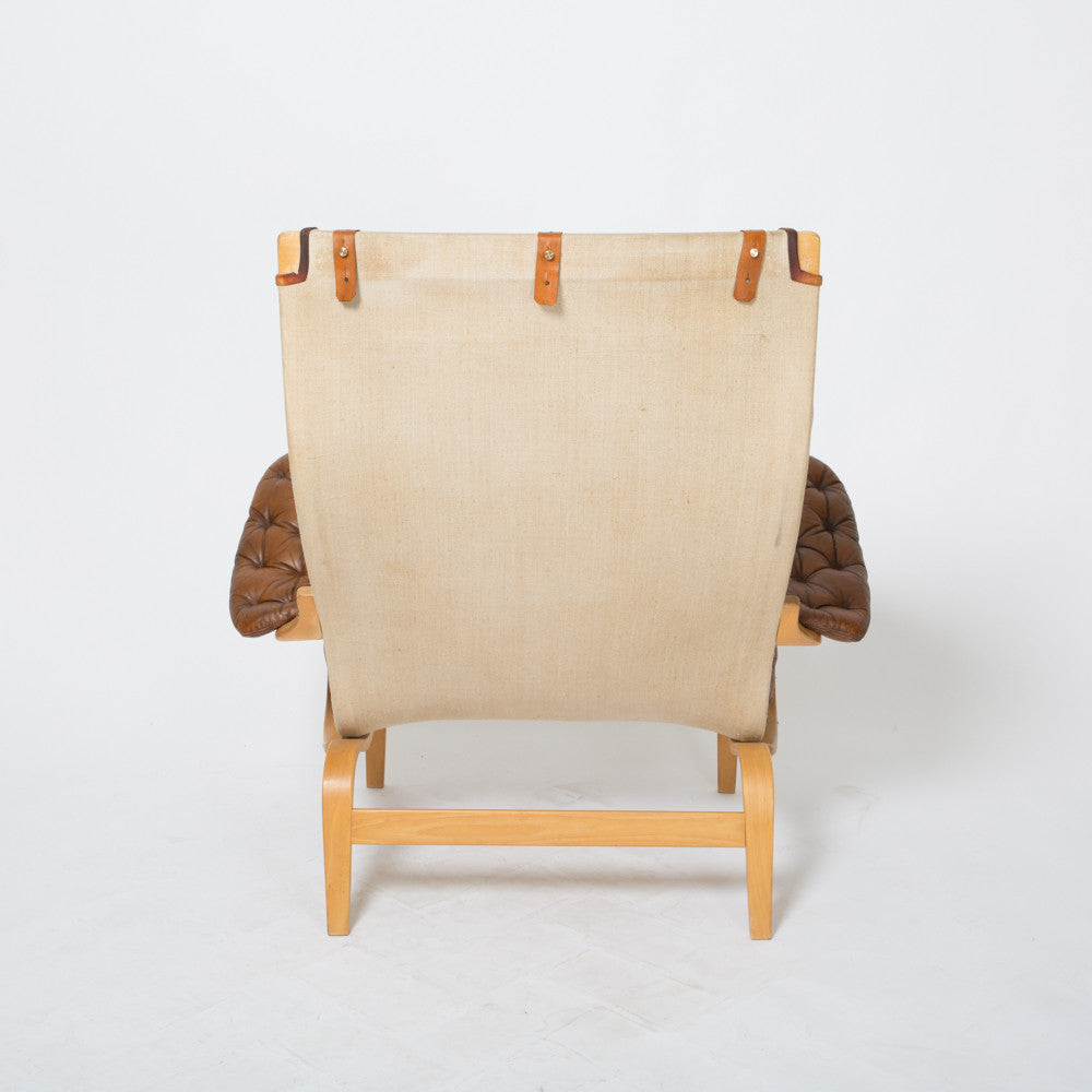 ... Pernilla Lounge Chair With Ottoman By Bruno Mathsson ...