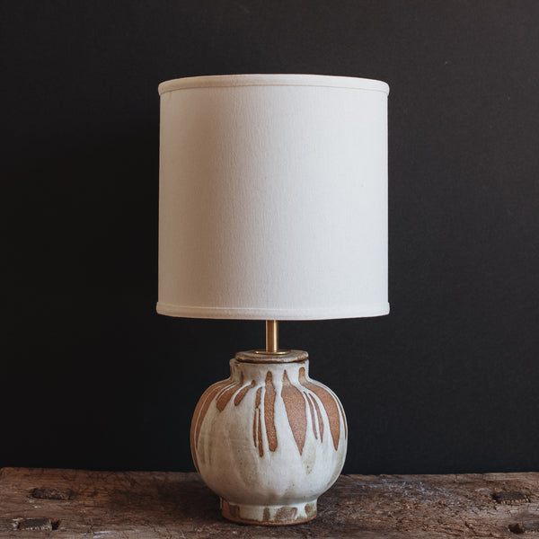 Ceramic Lamp Round Base