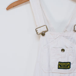 Washington Dee Cee White Overalls