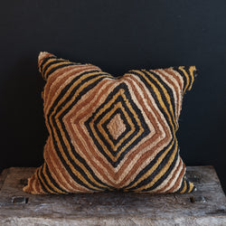 African Kuba Cloth Pillow #3