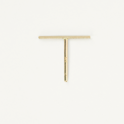 Long Staple Stud - 14 K