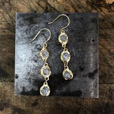 River Run Diamond Earrings