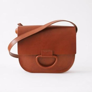 Crescioni Logan Bag - Saddle Brown