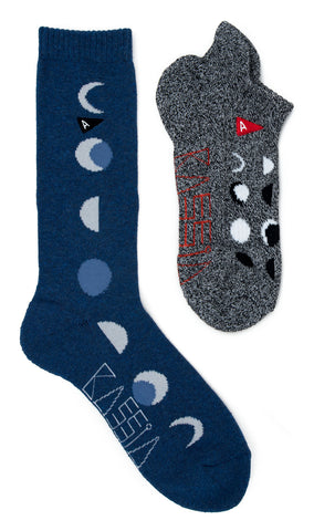 KASSIA+SURF X Arvin Goods Moonphase Socks