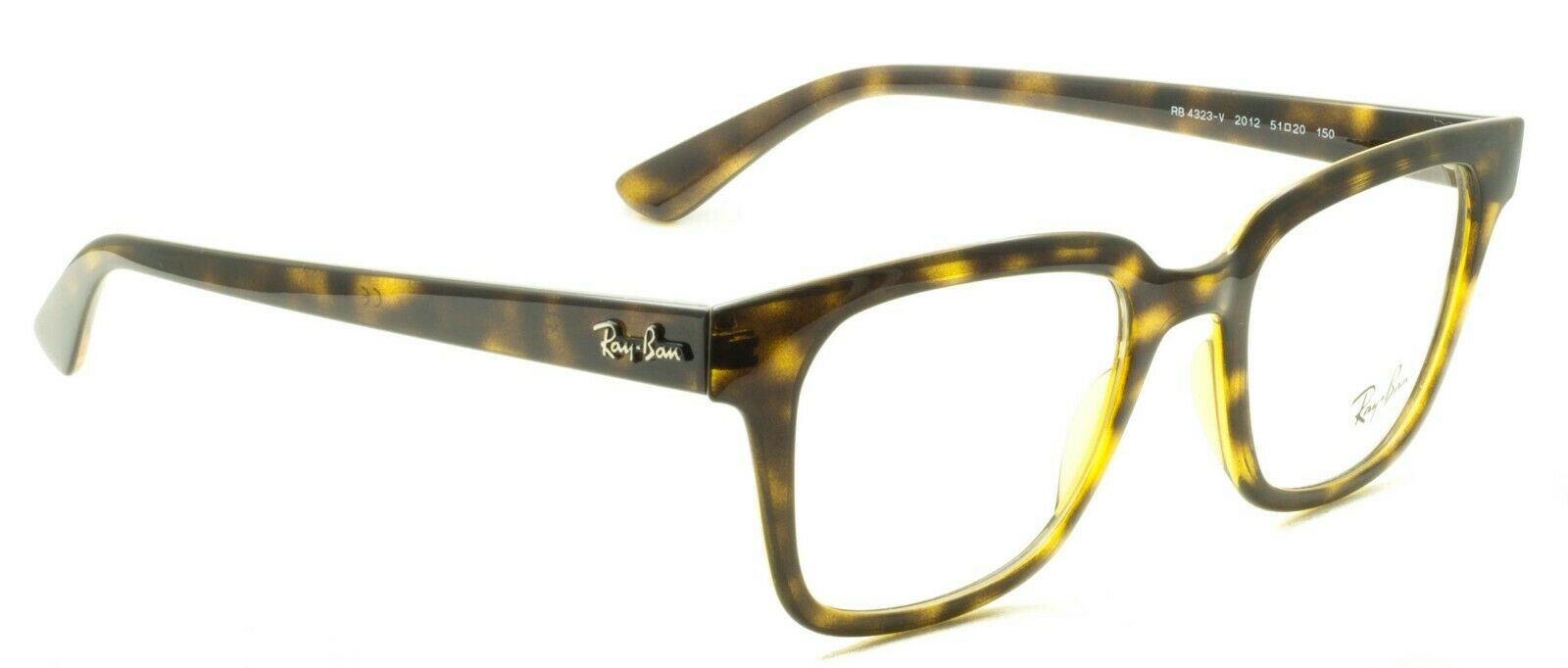 RAY BAN RB 4323-V 2012 51mm RX Optical FRAMES RAYBAN Glasses Eyewear New - Italy