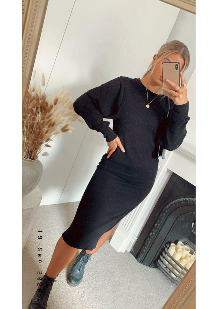 Knitted Midi Dress