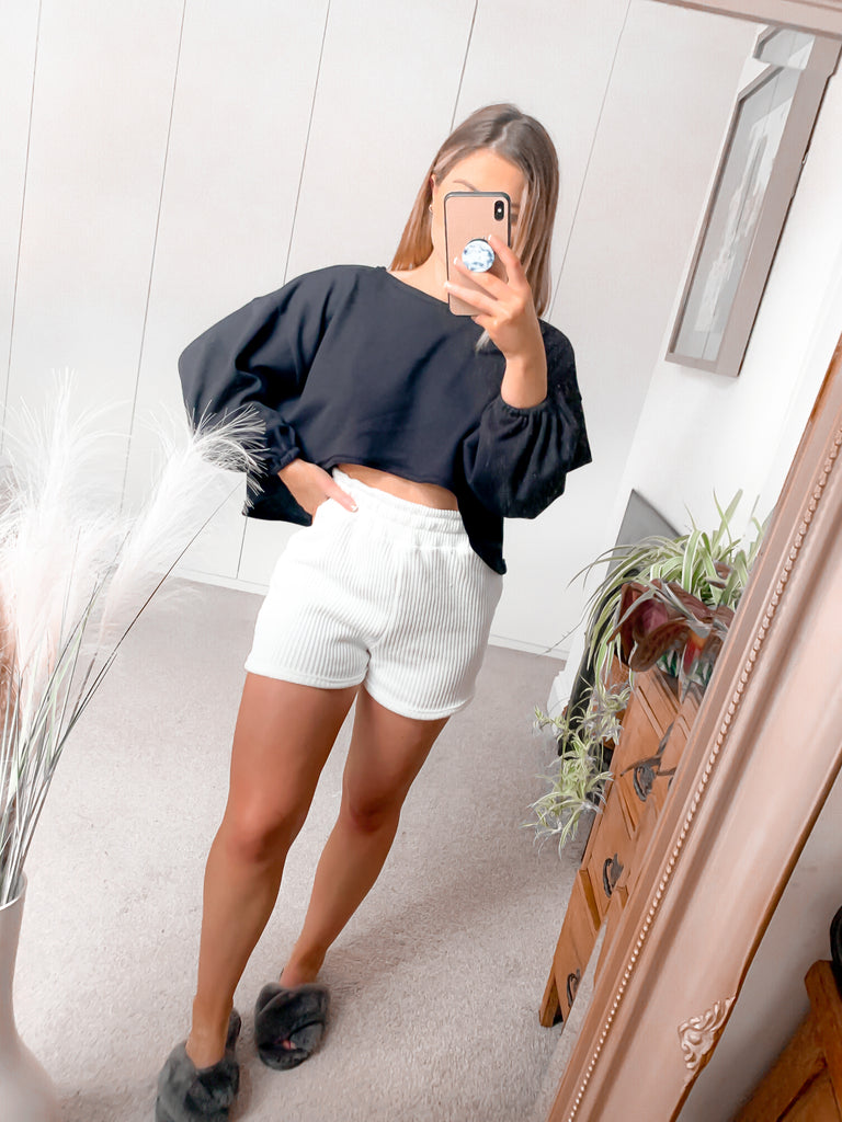 Super Cropped Lounge Jumper