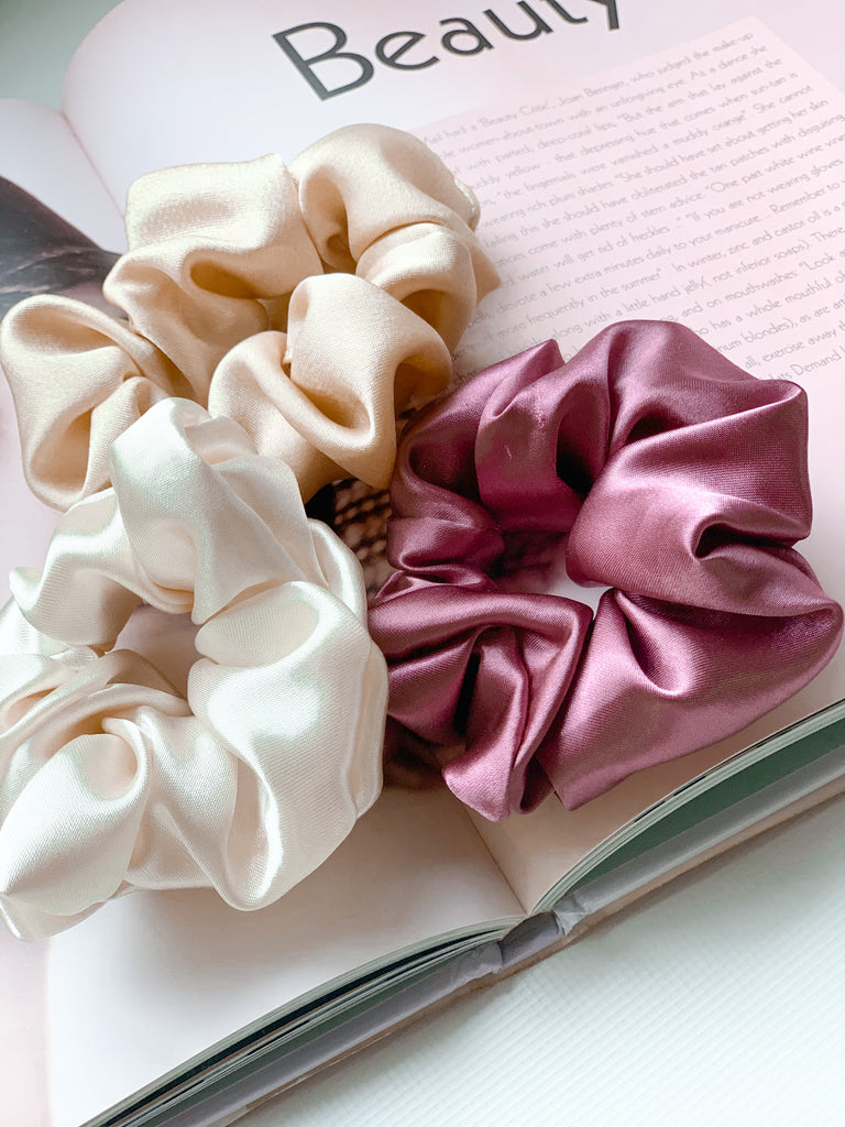 Silky Satin Scrunchie