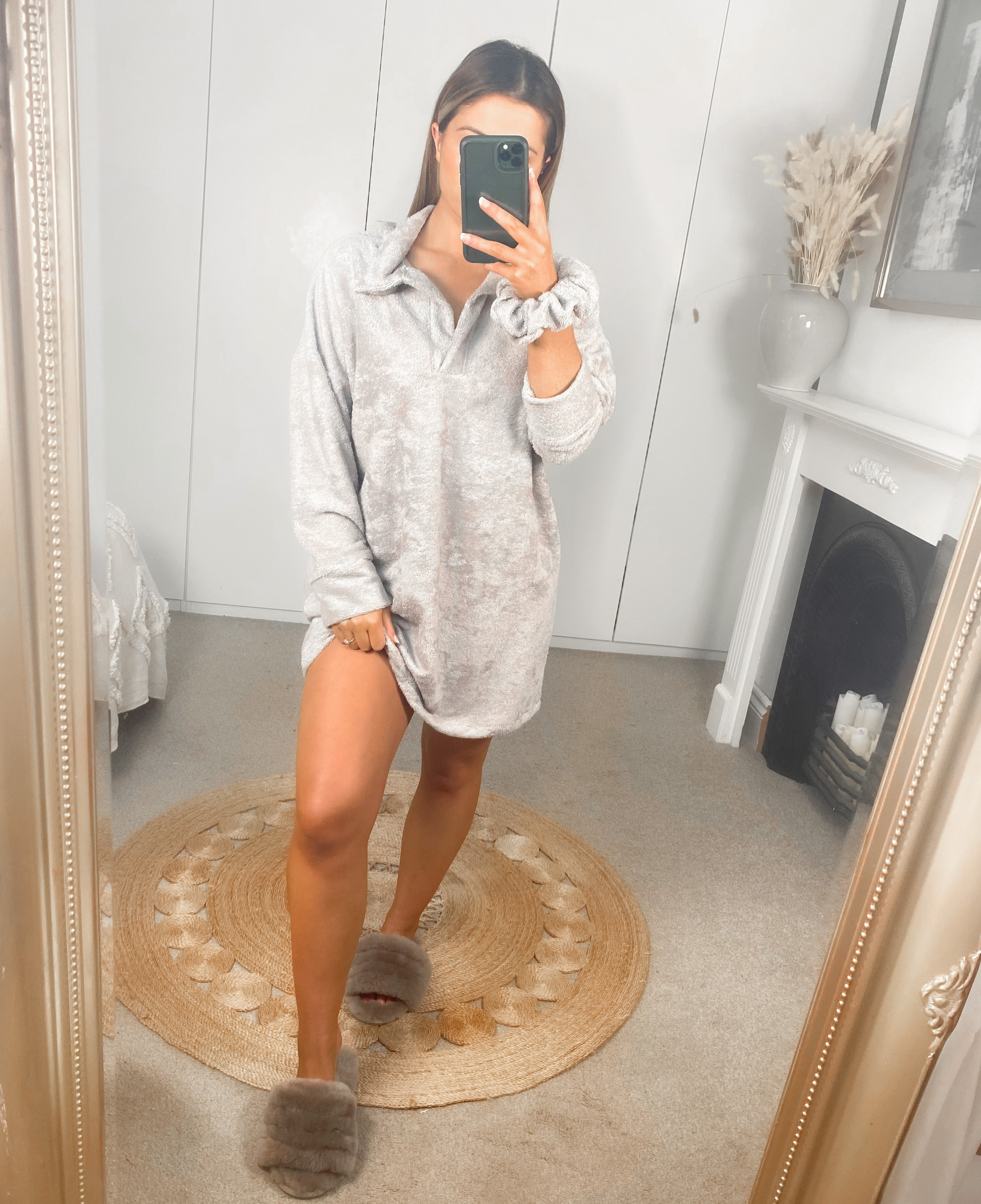 What a Softie Polo Jumper Dress ( More Colours Available)