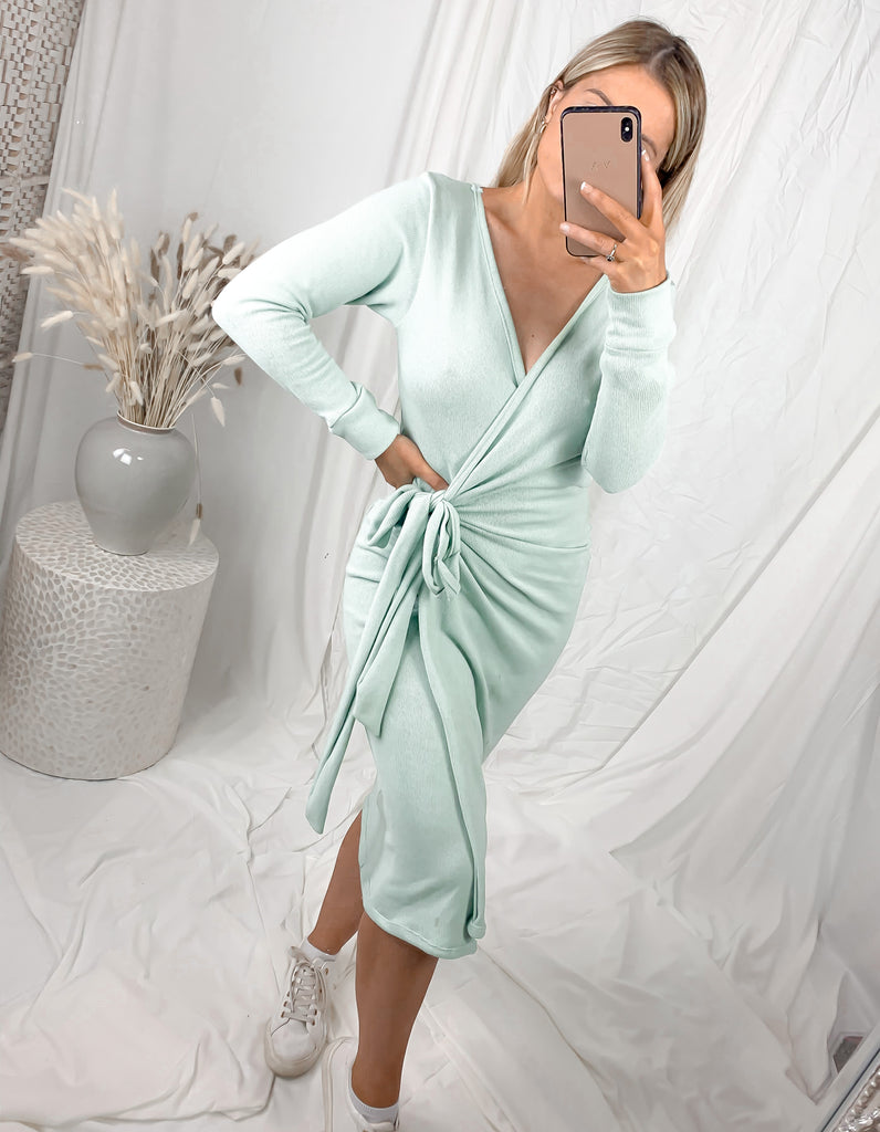 Lounge Wrap Dress ( More colours Available)