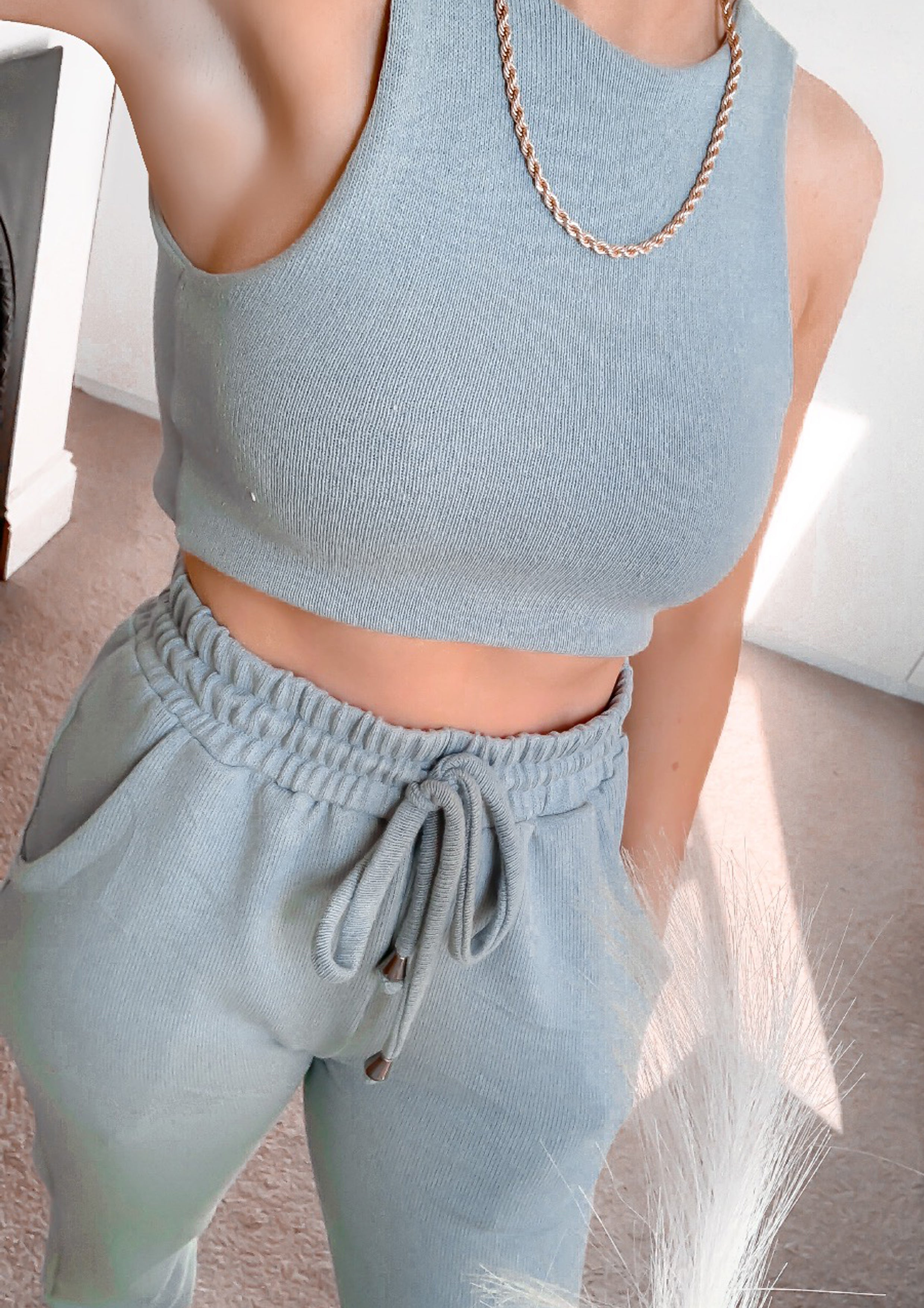 Bethany Lounge crop top (More colours available)