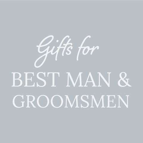 Personalised Gifts for Best Man and Ushers