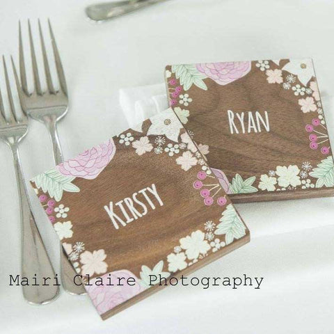 Wedding Coaster Favours Create Gift Love