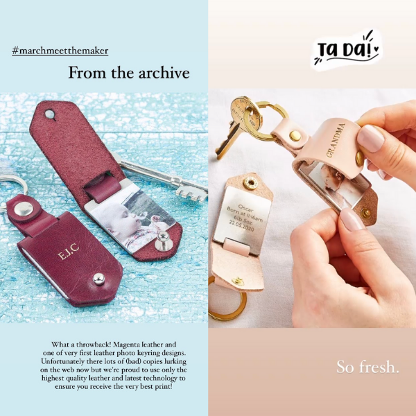 Create Gift Love photo keyring archive
