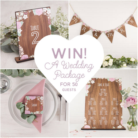 Wedding Styling Prize Draw