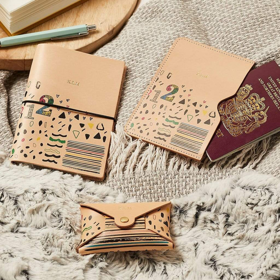 Design Your Own Leather Passport Holder Create Gift Love
